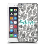 Official Pom Graphic Design Typography Believe Hard Back Case For Apple Iphone 6 Plus / 6S Plus