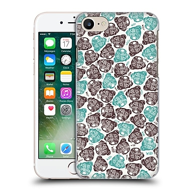 Official Pom Graphic Design Animals The Barking Pug Hard Back Case For Apple Iphone 7
