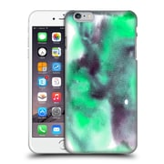 "Official Julien ""Corsac"" Missaire Abstract Marbled Milk Black Flash Green Hard Back Case For Apple Iphone 6 Plus / 6S Plus"