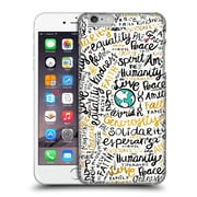 Official Pom Graphic Design Typography Positive Messages Hard Back Case For Apple Iphone 6 Plus / 6S Plus
