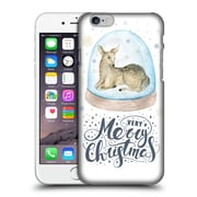 Official Kristina Kvilis Christmas Deer Hard Back Case For Apple Iphone 6 / 6S