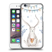 Official Kristina Kvilis Christmas Bunny Hard Back Case For Apple Iphone 6 / 6S