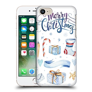 Official Kristina Kvilis Christmas Presents Hard Back Case For Apple Iphone 7