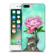 Official Jane Starr Weils Symbols And Ornaments Squirrel Presenting Peony Hard Back Case For Apple Iphone 7 Plus