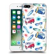 Official Kristina Kvilis Pattern Beach Hard Back Case For Apple Iphone 7 Plus