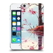 Official Graham Gercken Trees Pink Lake Painting Hard Back Case For Apple Iphone 5 / 5S / Se