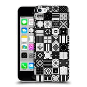 Official Giulio Rossi Patchwork Black & White Hard Back Case For Apple Iphone 5C