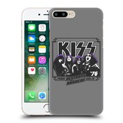 Official Kiss Tours Anaheim Hard Back Case For Apple Iphone 7 Plus
