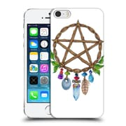 Official Jane Starr Weils Symbols And Ornaments Pentacle Charm Hard Back Case For Apple Iphone 5 / 5S / Se