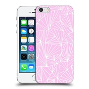 Official Project M Abstract Fan Pink Hard Back Case For Apple Iphone 5 / 5S / Se
