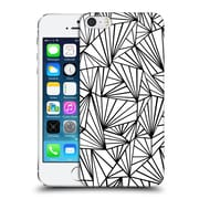 Official Project M Abstract Fan White Hard Back Case For Apple Iphone 5 / 5S / Se