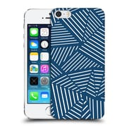 Official Project M Abstract Linear Navy Hard Back Case For Apple Iphone 5 / 5S / Se