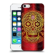 Official Peter Barreda Luminous Spirit Mandalas Diamo Goldenskull Hard Back Case For Apple Iphone 5 / 5S / Se