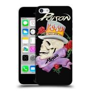 Official Poison Custom Art Skull Hard Back Case For Apple Iphone 5C
