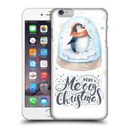 Official Kristina Kvilis Christmas Penguin 2 Hard Back Case For Apple Iphone 6 Plus / 6S Plus