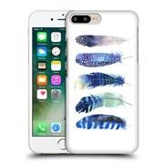 Official Kristina Kvilis Feathers Blue Hard Back Case For Apple Iphone 7 Plus