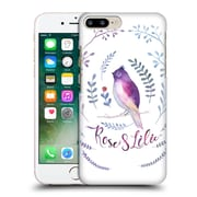 Official Kristina Kvilis Birds Rose And Lily 1 Hard Back Case For Apple Iphone 7 Plus