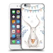 Official Kristina Kvilis Christmas Bunny Hard Back Case For Apple Iphone 6 Plus / 6S Plus