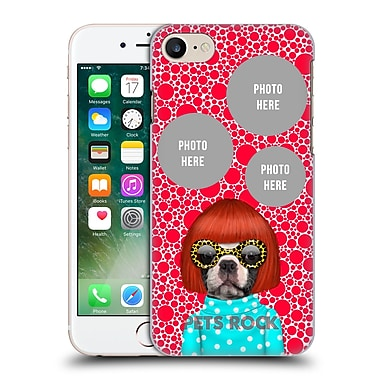 Custom Customised Personalised Pets Rock Custom Case Spots Hard Back Case For Apple Iphone 7