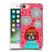 Custom Customised Personalised Pets Rock Custom Case Spots Hard Back Case For Apple Iphone 7