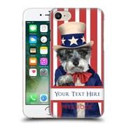 Custom Customised Personalised Pets Rock Custom Case Uncle Sam Hard Back Case For Apple Iphone 7