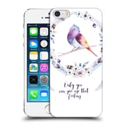 Official Kristina Kvilis Birds Only You Can Give Me That Feeling Hard Back Case For Apple Iphone 5 / 5S / Se