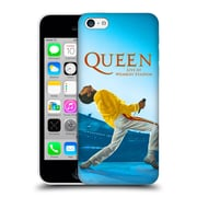 Official Queen Key Art Freddie Mercury Live At Wembley Hard Back Case For Apple Iphone 5C