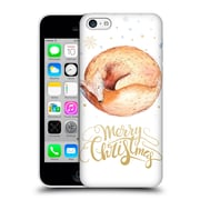 Official Kristina Kvilis Christmas Fox Hard Back Case For Apple Iphone 5C