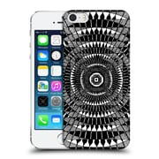 Official Peter Barreda Black And White Mandalas Zoor Hard Back Case For Apple Iphone 5 / 5S / Se