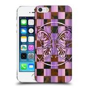 Official Peter Barreda Luminous Spirit Mandalas Ashalia Pinktile Hard Back Case For Apple Iphone 5 / 5S / Se