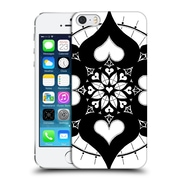 Official Peter Barreda Black And White Mandalas Lianai Hard Back Case For Apple Iphone 5 / 5S / Se