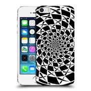 Official Peter Barreda Black And White Mandalas Aspira Hard Back Case For Apple Iphone 5 / 5S / Se