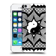 Official Peter Barreda Black And White Mandalas Daorashi Hard Back Case For Apple Iphone 5 / 5S / Se