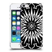 Official Peter Barreda Black And White Mandalas Amarah Hard Back Case For Apple Iphone 5 / 5S / Se