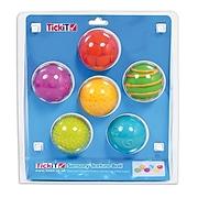 TickiT Sensory Texture Balls, 6/Set (CTU74058)