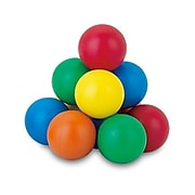Popular Playthings Jumbo Magnetic Marbles, Assorted Colors, 5 Per Set (PPY160)
