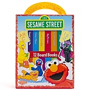 My First Library Sesame Street, 12 Books by Phoenix International Kids, Hardcover (9781412705158)