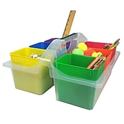 """Romanoff Products 14.00""""H x 13.50""""W Plastic Large Caddy with Removable Cups, Assorted (ROM251)"""