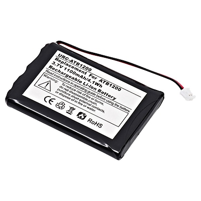Ultralast 3.7 Volt Lithium Ion Remote Control Battery for RTI ATB-1200 (URC-ATB1200)