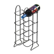 Spectrum® 8-Bottle Townhouse Wine Rack, Black (49710)