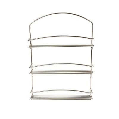 Spectrum Euro 3-Tier Wall Mount Spice Rack,