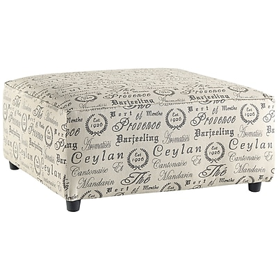 Signature Design by Ashley Alenya Oversized Accent Ottoman in Microfiber (1669OTTQTZ)