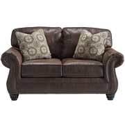 Benchcraft Breville Loveseat in Faux Leather (FBC8009LSESP)