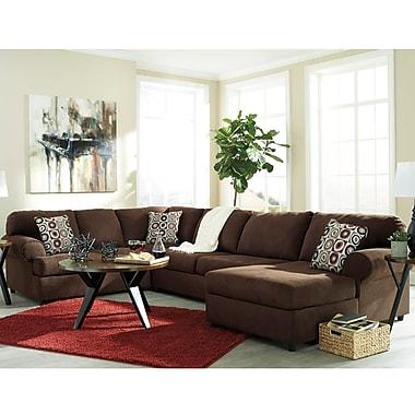 Signature Design by Ashley Jayceon 3-Piece LAF Sofa Sectional in Fabric (6499SEC3LAFSJAV)