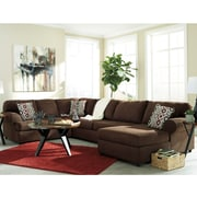 Flash Furniture Signature Design by Ashley Jayceon 3-Piece Left Facing Sectional Sofa Sectional in Fabric (6499SEC3LAFSJAV)