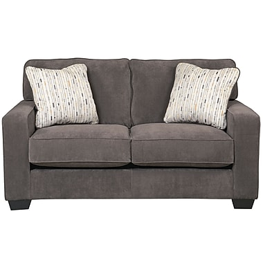 Signature Design by Ashley Hodan Loveseat in Microfiber (7979LSMBL)