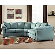 Signature Design by Ashley Darcy Sectional in Microfiber (1109SECSKY)