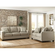 Signature Design by Ashley Alenya Living Room Set in Microfiber (1669SETQTZ)