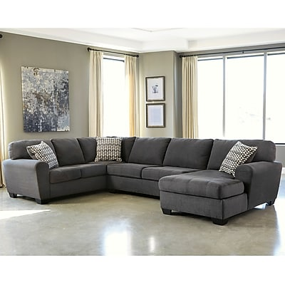 Benchcraft Sorenton 3-Piece LAF Sofa Sectional in Fabric (2869SEC3LAFSSLA)