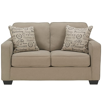 Signature Design by Ashley Alenya Loveseat in Microfiber (1669LSQTZ)